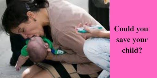 Bunbury Baby/ Toddler first-aid course