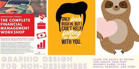 Graphic Design For Non-Designers tickets