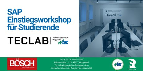 Einstiegsworkshop SAP  Tickets