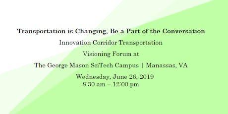 Innovation Corridor Transportation Visioning Forum tickets