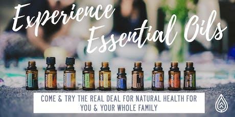 Discover Essential Oils tickets