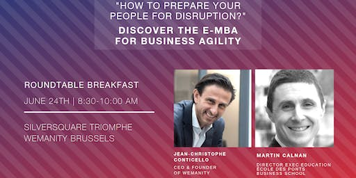 Roundtable breakfast: How to prepare your people for disruption?
