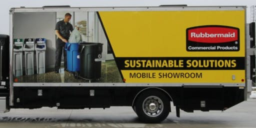 Brame Rubbermaid Sustainable Solutions Mobile Marketing Truck and Lunch