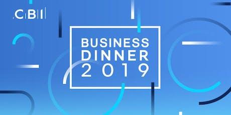 CBI Business Dinner - Greater Birmingham  tickets