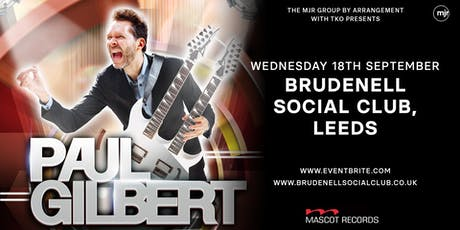 Paul Gilbert (Brudenell Social Club, Leeds) tickets