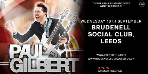 Paul Gilbert (Brudenell Social Club, Leeds)
