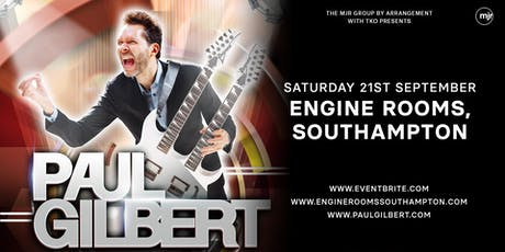Paul Gilbert (Engine Rooms, Southampton)