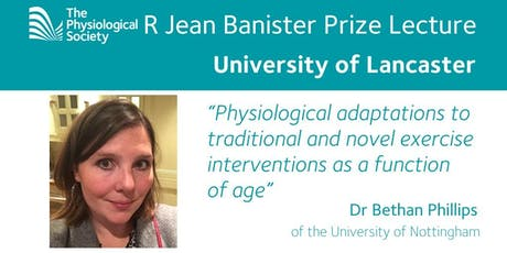 R Jean Banister Prize Lecture - Monday 15th July 2019 tickets