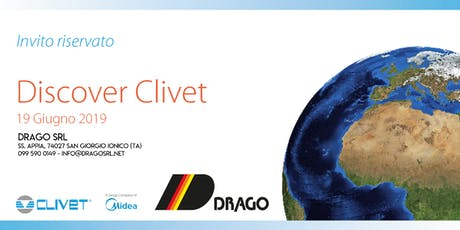 DRAGO SRL - Incontro formativo in collaborazione con Clivet spa biglietti