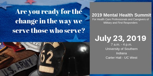 2019 Mental Health Summit on Military and First Responders