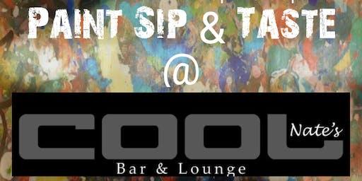 Paint Sip & Taste @ Cool Nate's