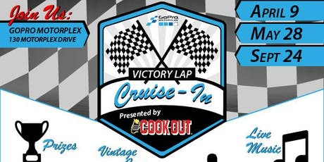 Victory Lap Cruise-in presented by Cook Out tickets