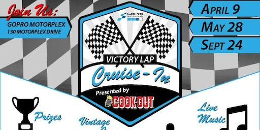 Victory Lap Cruise-in presented by Cook Out