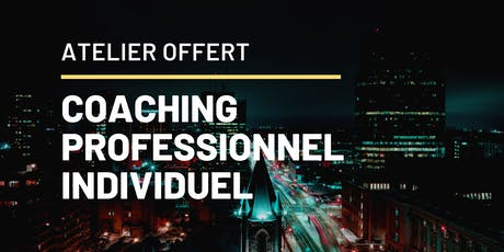 Journée de coaching découverte (séance individuelle) billets