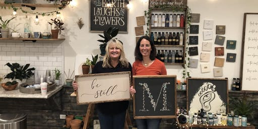 Wood Sign Workshop! Choose any design in our gallery