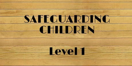 Safeguarding Children Training Level 1  tickets