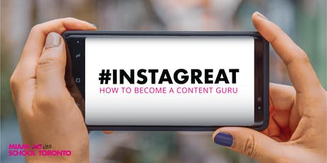#Instagreat tickets