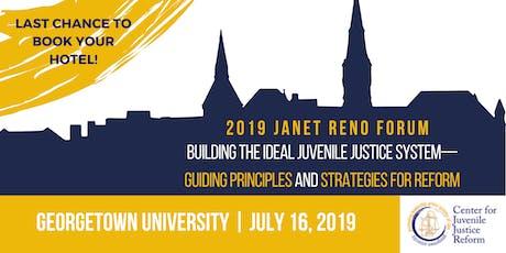 2019 Janet Reno Forum tickets