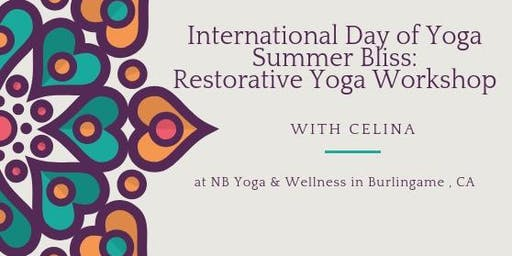 International Day of Yoga: Restorative Yoga with Yoga Nidra