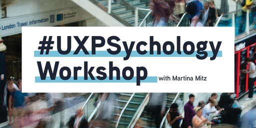 UX Psychology Workshop (2 days) from Cognitive Laboratories 16th + 17th July
