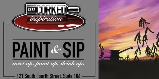 Paint & Sip | Soybean Sunset