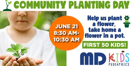 Community Planting Day- Saner Practice in Oak Cliff tickets