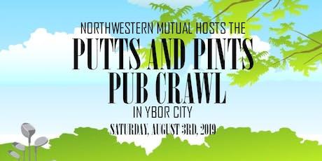 Putt & Pints Pub Crawl 2019 tickets