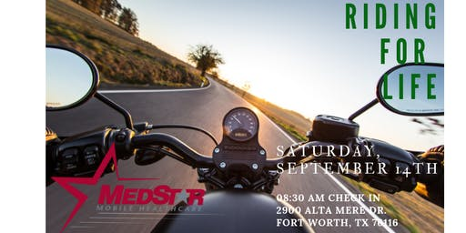 2nd Annual Riding for Life - Suicide Prevention Event