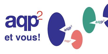 5 à 7 - L'AQP2 et vous (18 juin, Le Pourvoyeur à Montréal) tickets