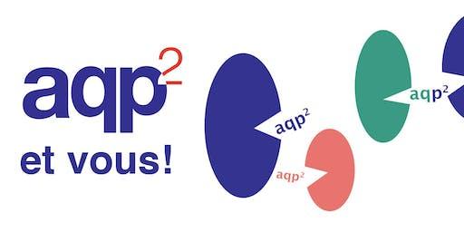 5 à 7 - L'AQP2 et vous (18 juin, Le Pourvoyeur à Montréal)