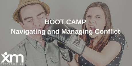 Boot Camp: Managing and Navigating Conflict  tickets