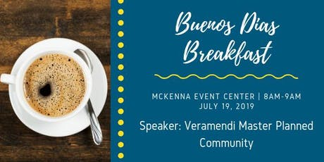 HBA July 2019 Buenos Dias Breakfast  tickets