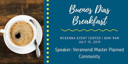 HBA July 2019 Buenos Dias Breakfast
