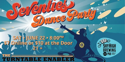 Seventies Dancy Party on the Rooftop!