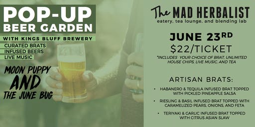 The Mad Herbalist | Pop-Up Beer Garden