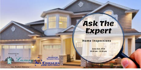 Ask the Expert: Home Inspections tickets