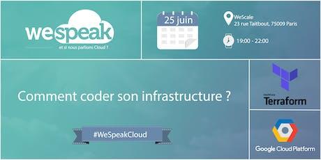 #WeSpeakCloud : Comment coder son infrastructure sur GCP ET AWS ? billets