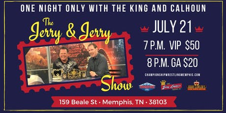 The Jerry & Jerry Show tickets
