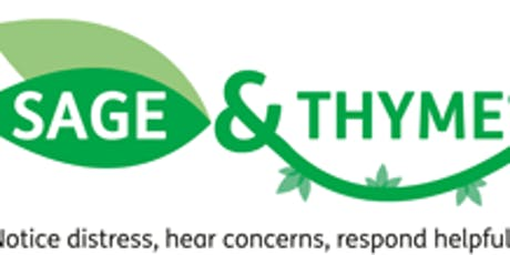 CNWL Sage & Thyme workshop July 2019 tickets