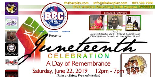 Juneteenth Celebration -A Day of Remembrance