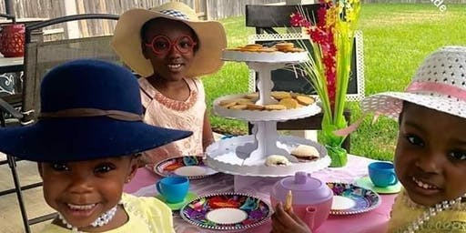 Denim & Diamonds Tea Party: A Little Girls' Conference
