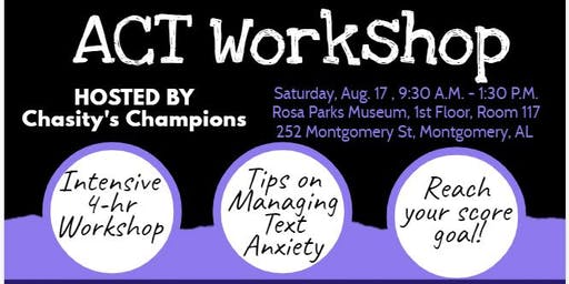 ACT Prep Workshop: Preparing for College