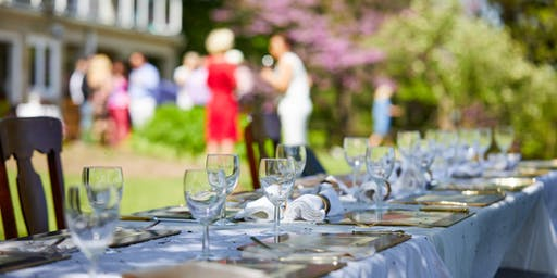 Lakeside Long Table Luncheon - Food, Wine, Music, Entertainment, Gardens