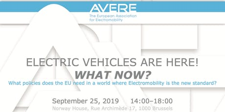 Electric Vehicles Are Here: What Now? tickets