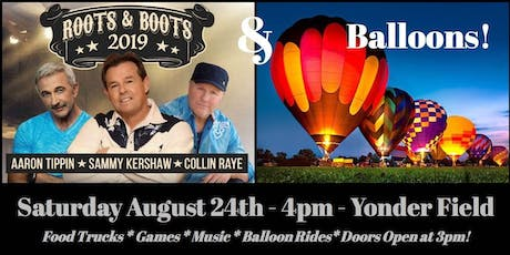 Roots and Boots and Balloons  tickets