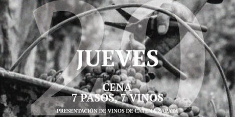 Cena Catena 7 Pasos 7 vinos entradas