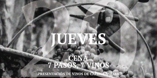 Cena Catena 7 Pasos 7 vinos