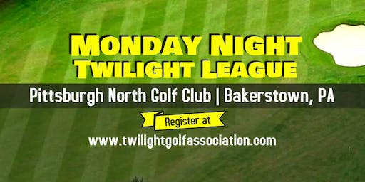 Monday Twilight League at Pittsburgh North Golf Club