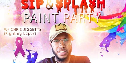 SIP & SPLASH PAINT PARTY W/CHRIS JIGGETTS