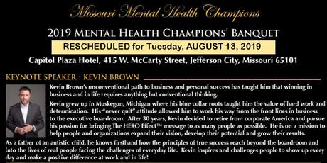2019 Mental Health Champions' Awards Banquet Tickets tickets